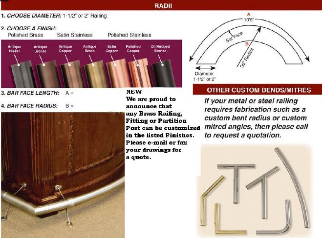 radius custom railing