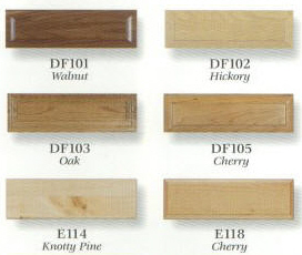 All Fronts Shown Are Available In Any Wood Specie Below The Pricing Table Un Finished Or Pre Of Our Colors See