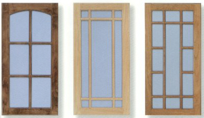 Fastening Glass into Cabinet Doors - Woodworking Information at