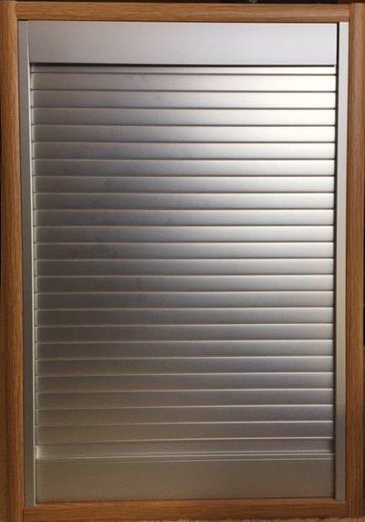 PVC AND ALUMINUM TAMBOUR DOORS